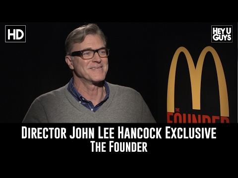 Director John Lee Hancock  Exclusive   The Founder