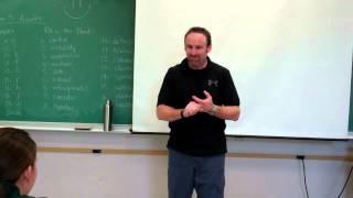 SAFE International High School Self Defense - Awareness Drill