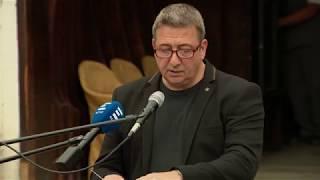 Bayer Zsolt beszéde Lovas István temetésén - ECHO TV