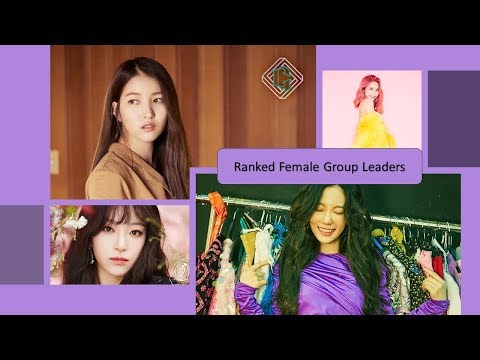 Ranked Top 10 Female Group Leaders