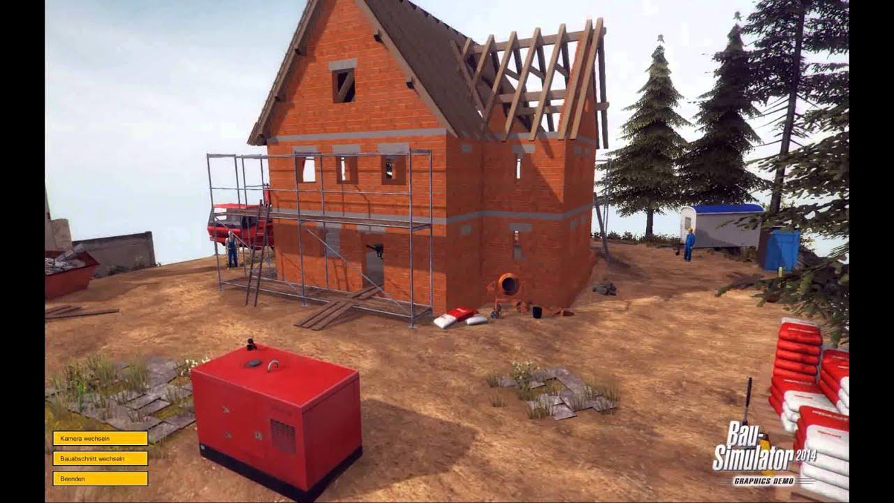 baumaschinen simulator demo