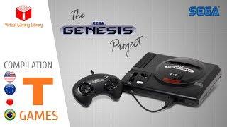 The SEGA Genesis/Mega Drive Project - Compilation T - All Genesis/Mega Drive Games (US/EU/JP/BR)