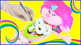 What's Inside TROLLS POPPY's Game? - Best Learning Body Parts Anatomy Kids Video Surprise Toys