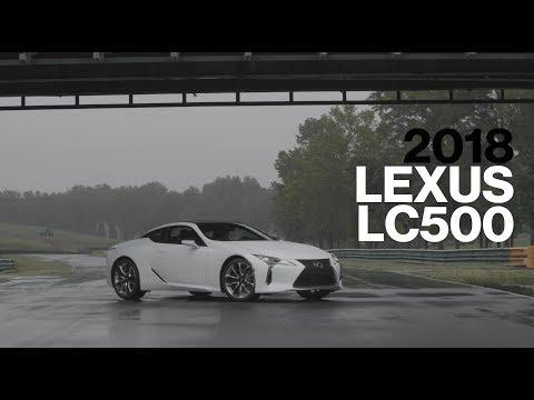 Lexus LC500 Hot Lap at VIR | Lightning Lap 2017 | Car and Driver