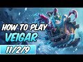HOW TO PLAY VEIGAR | Build & Runes | Diamond Commentary | Bad Santa Veigar | League of Legends