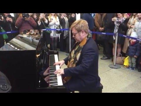 Elton John surprise performance London 2016