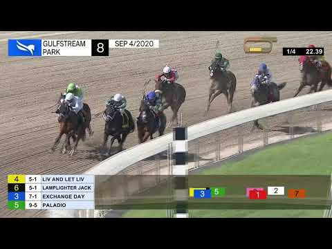 Gulfstream Park September 4, 2020 Race 8