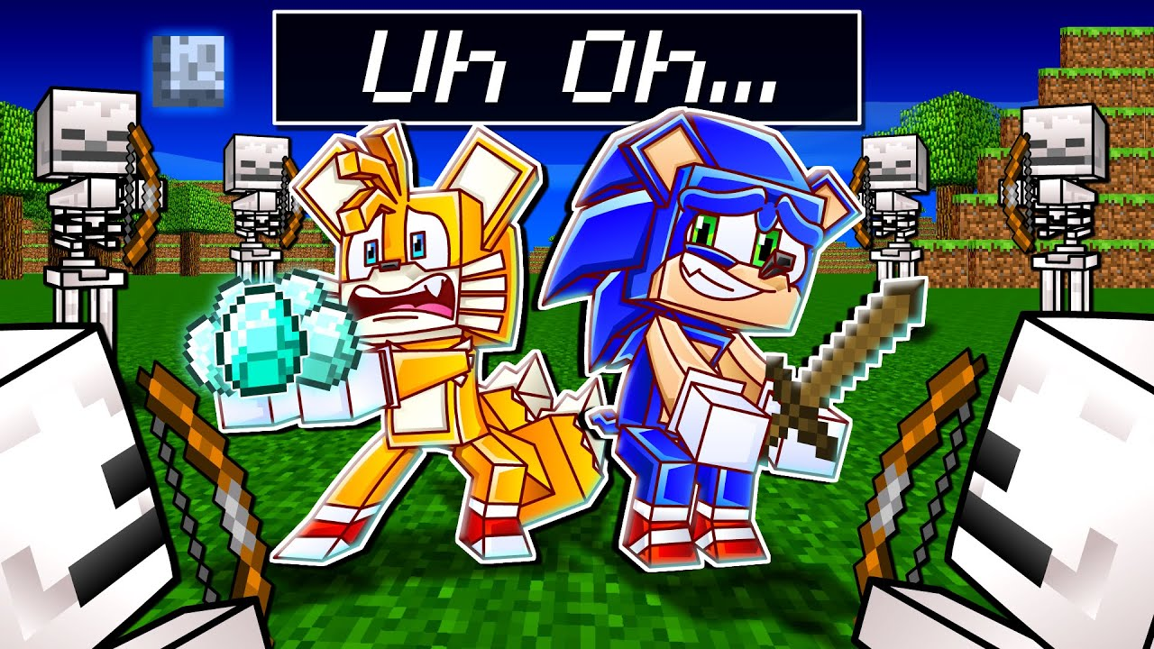 Sonic & Tails' LIFE in Minecraft - Sonic Minecraft Stories