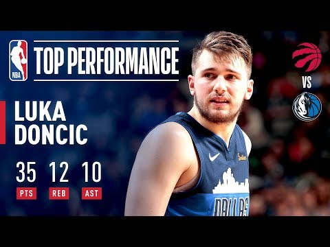 Luka Doncic Makes HISTORY With 30 Point Triple-Double | January 27, 2019 thumbnail