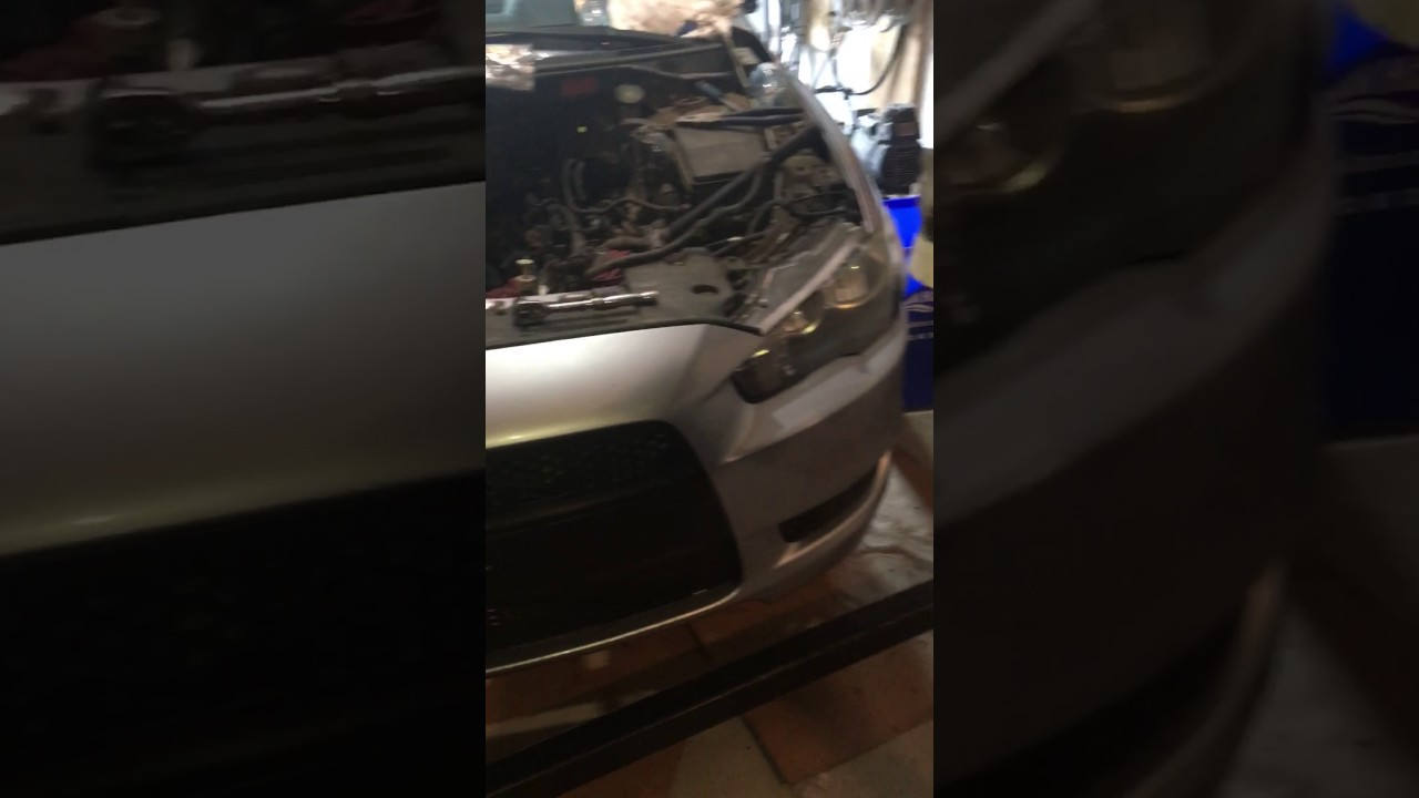 small resolution of 2008 mitsubishi lancer starter removal