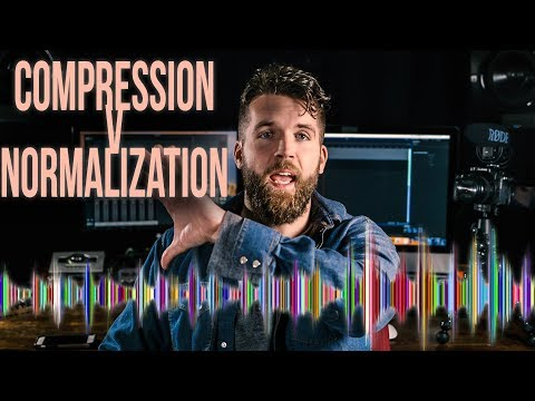 Compression vs Normalization in AUDIO for video // What's the difference?