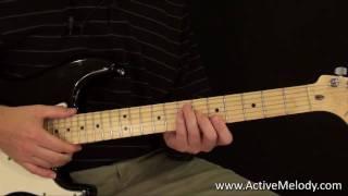 Eric Clapton Style Rhythm Guitar Lesson