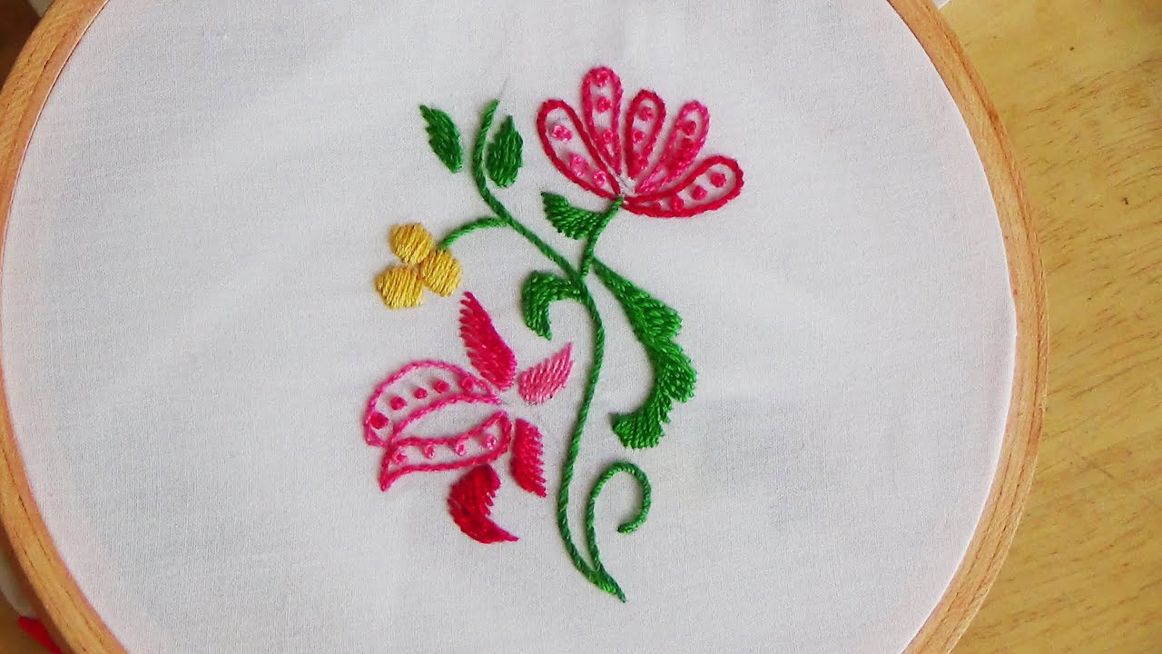 embroidery chain stitch instructions