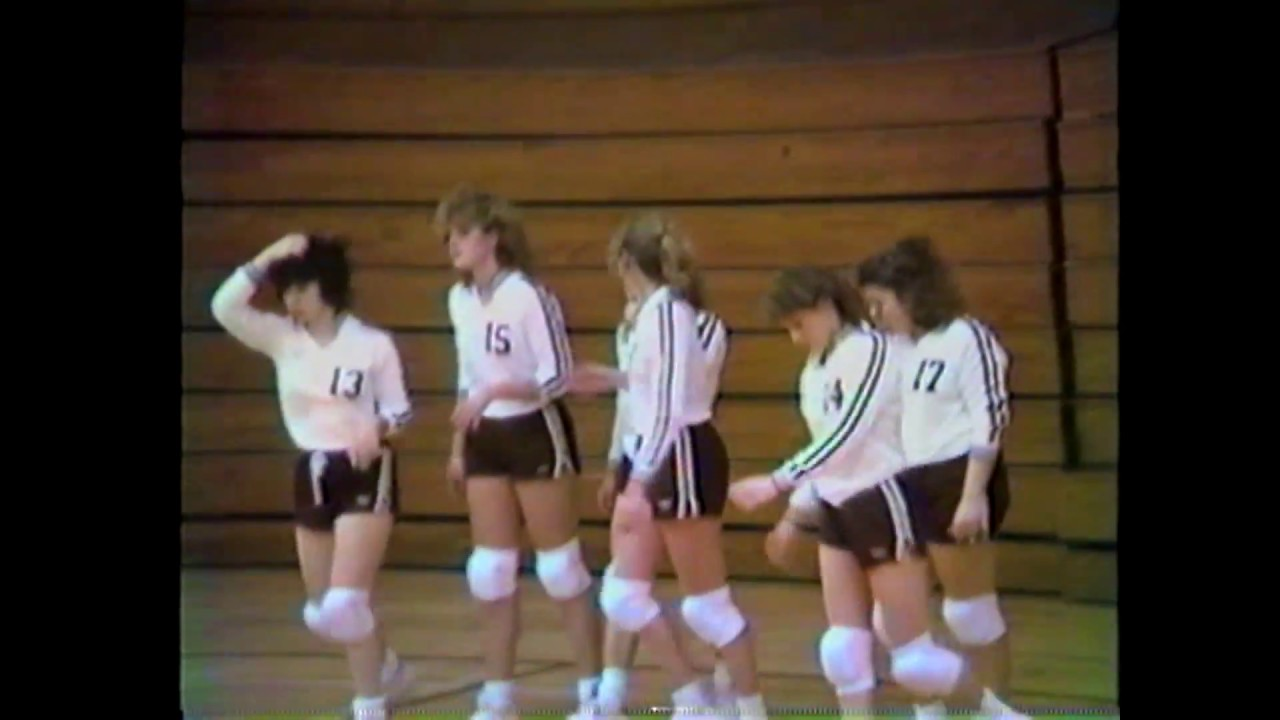 NCCS - Plattsburgh Volleyball  1-21-87