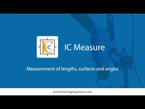 IC Measure - Measure on-screen lengths, angles, circles and polygons and capture images
