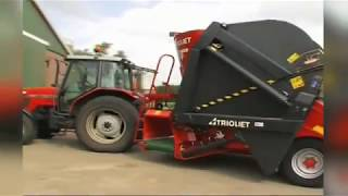 Triomix - self loading mixer feeder - zelfladende voermengwagen - TRIOLIET