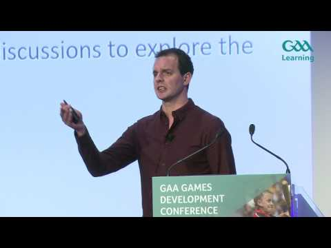 GAA Games Development Conference 2017 - Paul Kinnerk