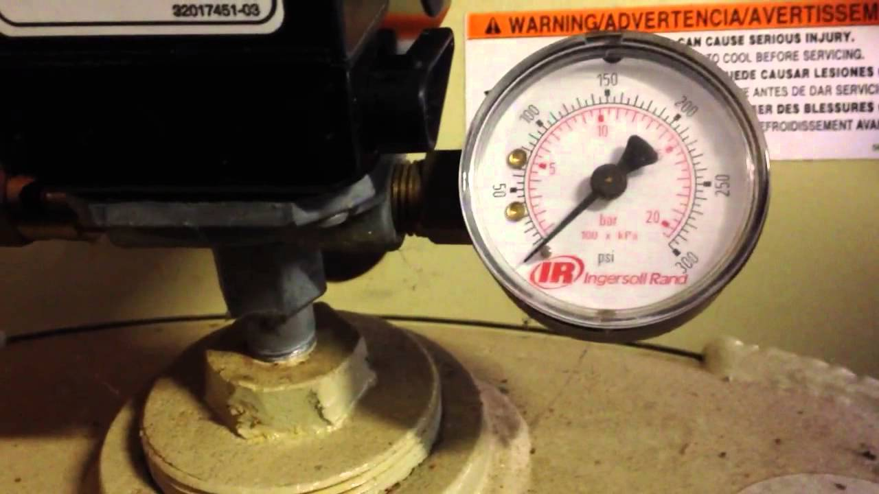 Ingersoll Rand 2475N75 2 Stage 80 Gallon 230V Air Compress YouTube – Ingersoll Rand 2475n7.5 Wiring Diagram