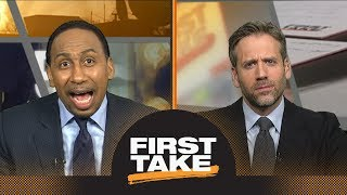 Stephen A. Smith loses it about Browns being featured on HBO's 'Hard Knocks' | First Take | ESPN