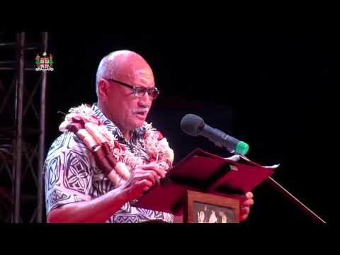 His Excellency the President opens Miss Pacific Islands Pageant.
