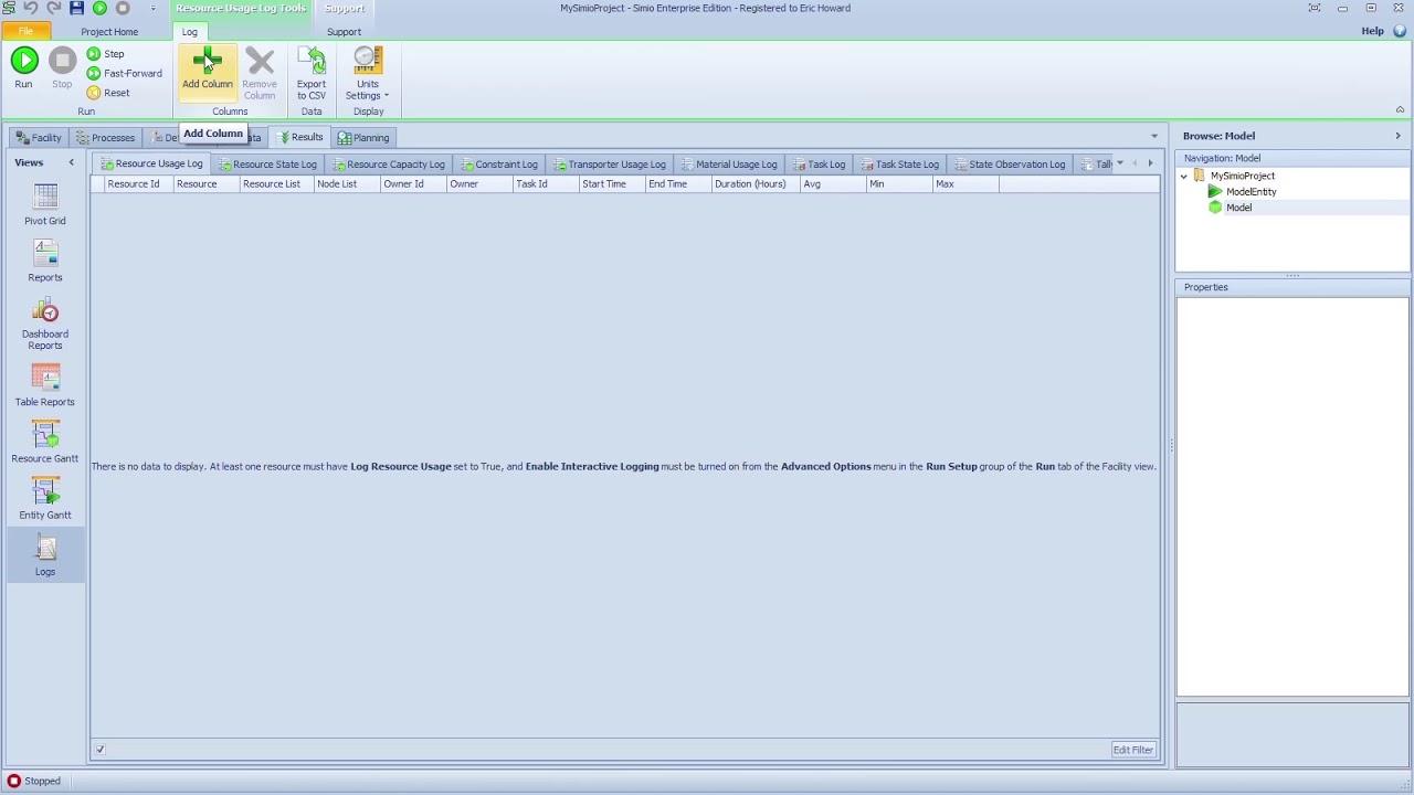 resource usage log task log enhancement youtube