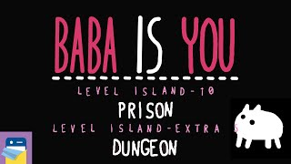 Baba Is You: Prison + Dungeon - Solitary Island Levels 10 & Extra 01 Walkthrough (by Hempuli)