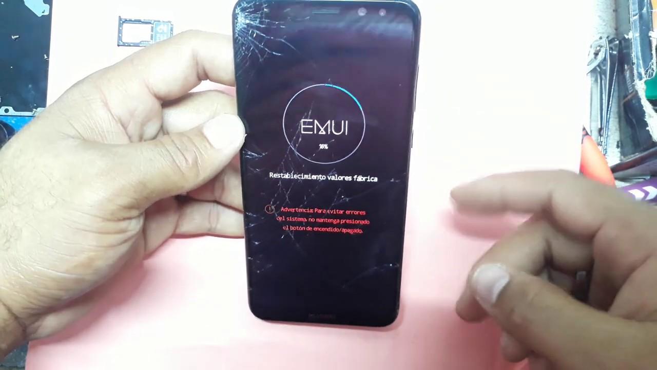 Hard Reset Huawei Mate 10 Lite RNE-L03 borrar contraseña restablecer dispositivo -Único Cell