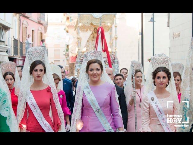 VÍDEO: Fiestas Aracelitanas: Salida de la procesión de María Stma. de Araceli