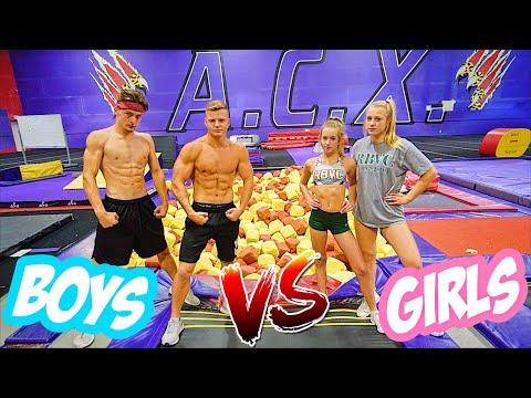 GAME OF FLIP GIRLS VS BOYS!