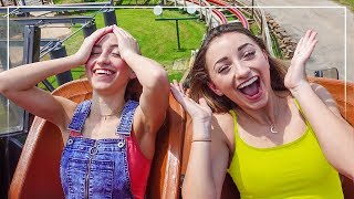 We Try EVERY ROLLER COASTER at SIX FLAGS! (Did We Make It?)