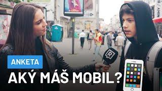 Aký máš mobil a koľko stál? (TO TI KÚPIL KTO?)