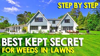 Weed Control - Best Weed Control for Lawns - Step by Step for ANYONE to have a Beautiful Lawn - Pre Emergents