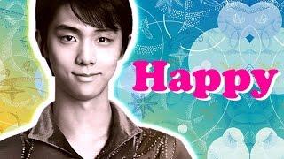 羽生結弦【MAD】Happy - Pharrell Williams  Yuzuru Hanyu Happy - Pharrell Williams 羽生結弦 検索動画 29