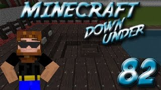 Minecraft Down Under Episode 82 - Working on the Dock System
