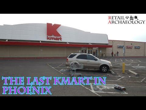 The Last Kmart In Phoenix | Kmart Store Closing Video Tour | Retail Archaeology