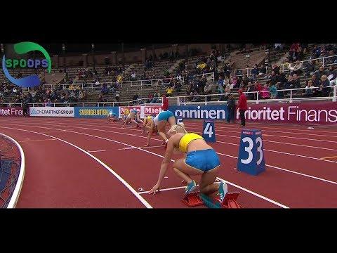 Finland-Sweden Athletics International 2017 | with Khaddi Sagnia | Highlights | HD