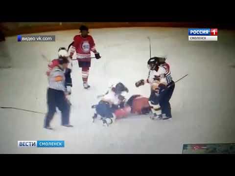 Схватка турнира «Золотая шайба» в Смоленске вышла за рамки спортивной