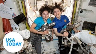 NASA astronauts conduct first all-female spacewalk | USA TODAY