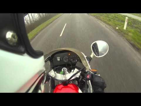 Acceleration test - Yamaha FZR 600 (Yoshimura exhaust)