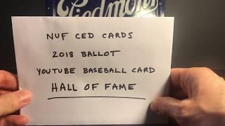 Baseball Collector - 700 Subscriber Contest Response