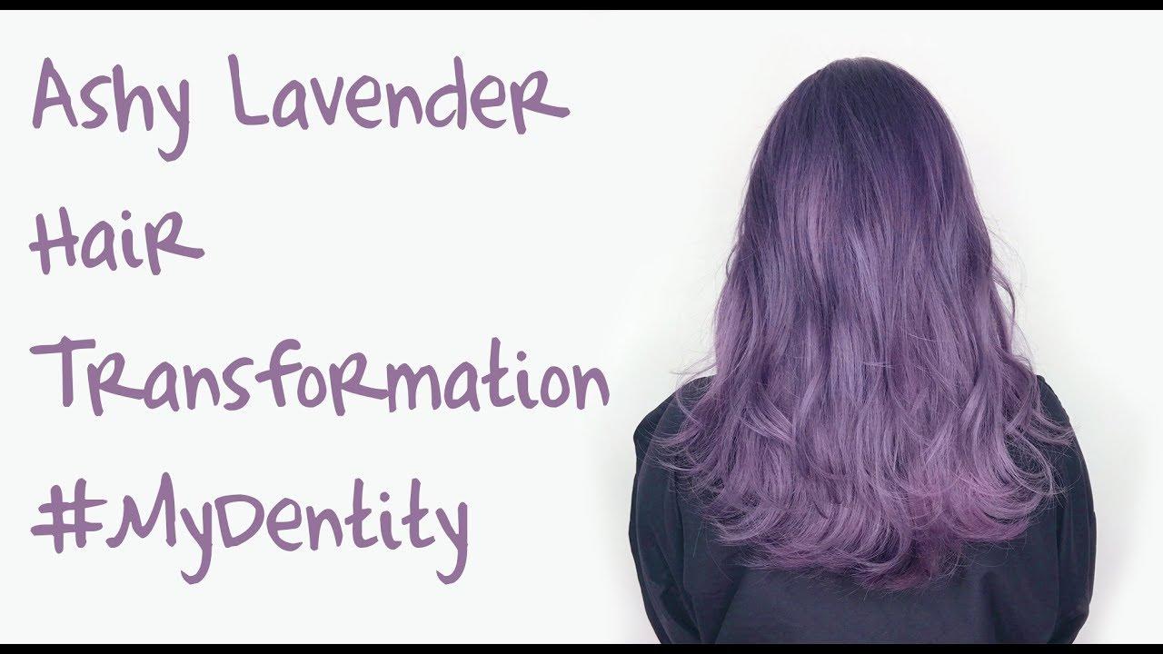 Ashy Lavender Hair Hair Transformation Using Mydentity By Guy Tang