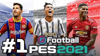 KONAMI - eFootball PES 2021 - Android/ iOS Gameplay
