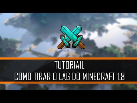 COMO TIRAR O LAG DO MINECRAFT 1.8