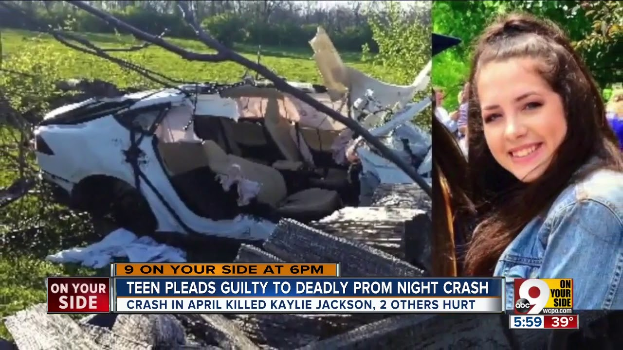 cca3b0a681e95 Teen driver admits guilt in fatal prom night crash - YouTube