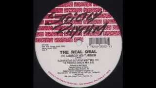 the real deal the saturday night anthem glenn friscias saturday night mix