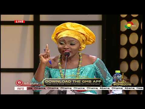 GHANA'S MOST BEAUTIFUL FULL VIDEO WEEK 8 GMB 2018