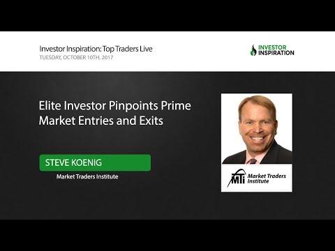 Elite Investor Pinpoints Prime Market Entries and Exits   Steve Koenig