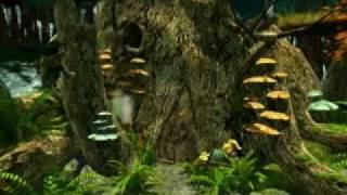 13 Atlantis Evolution Las - Drzewo, wejście do jaskini