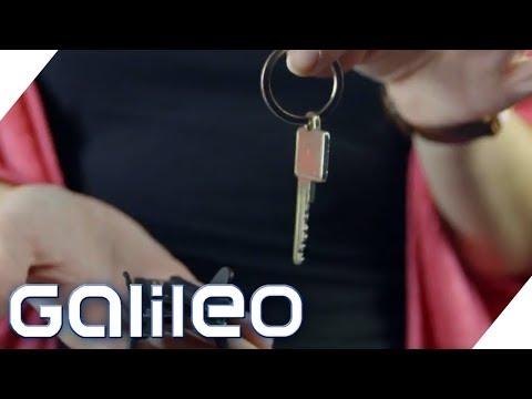 Der gefährlichste Schlüssel der Welt? Alles über den Alltags-Held Schlüssel | Galileo | ProSieben
