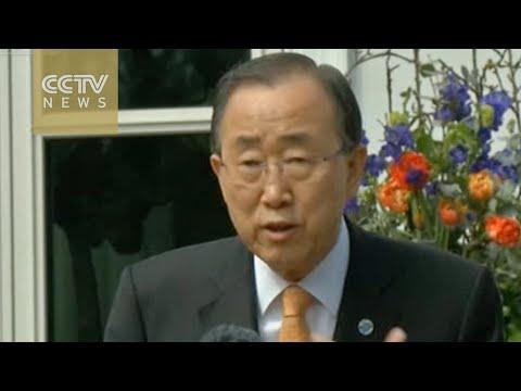 UN chief condemns Kabul bombing